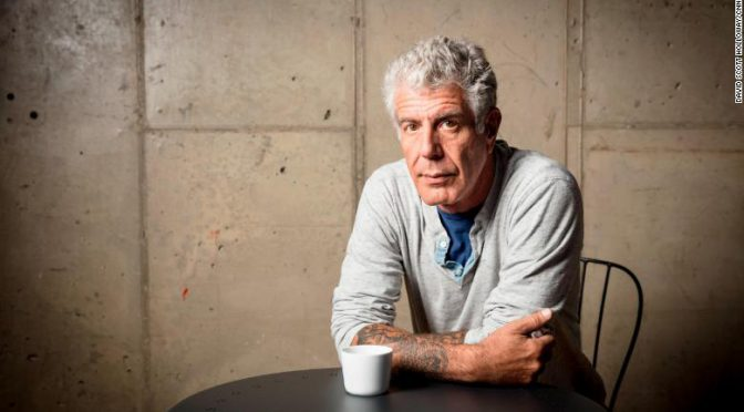 The Pain & Privilege Of Traveling With Anthony Bourdain