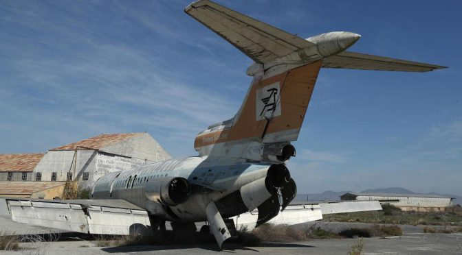 Haunting pictures of the abandoned Cyprus airport once used by millions of holidaymakers