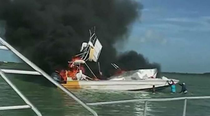 Us Tourist Dead After Tour Boat Explodes In The Bahamas