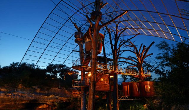 From Treehouses To Trailers, Check Out These Unconventional Texas Hotels