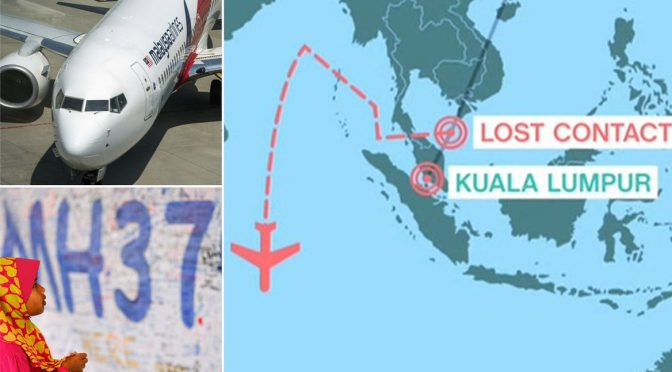 MH370 Probe Finds Controls Were Likely Manipulated