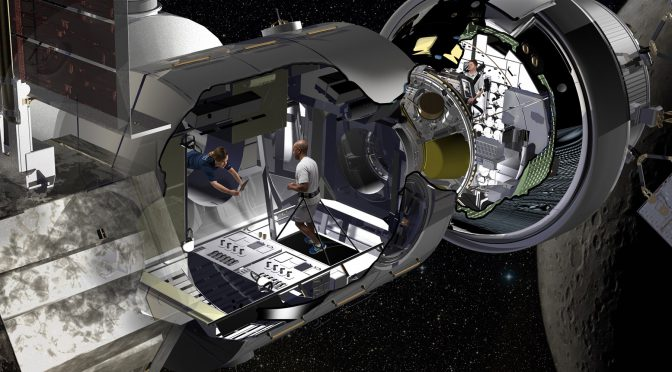 Lockheed Martin Designs Space Motel For Astronauts On The Way To Mars