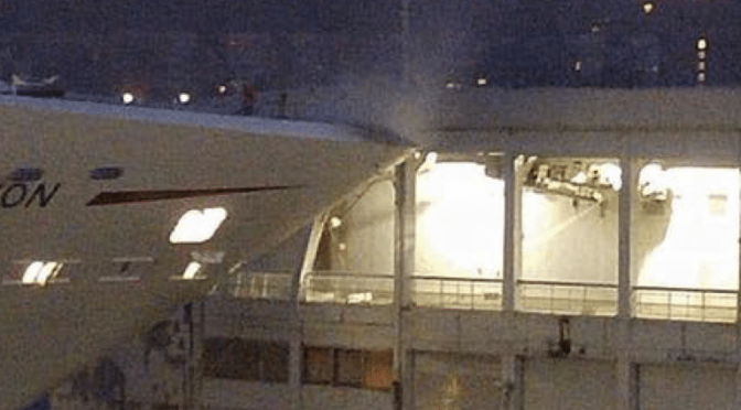 Carnival Cruise Ship Crashes Into Pier in New York City