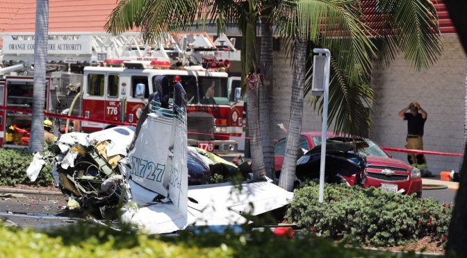 Small Plane Crashes In Orange County, Killing 5
