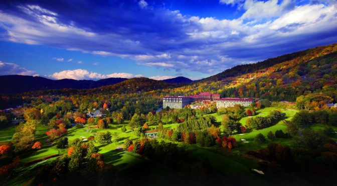 Grove Park Inn in Asheville, North Carolina
