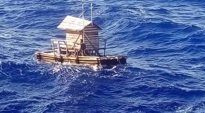 Indonesian Teenager Survives After Drifting 7 Weeks At Sea