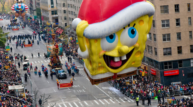 2018 Macy's Thanksgiving Day Parade In NYC