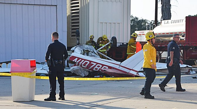 Plane Crashes At Whiteman Airport, 2 Critical
