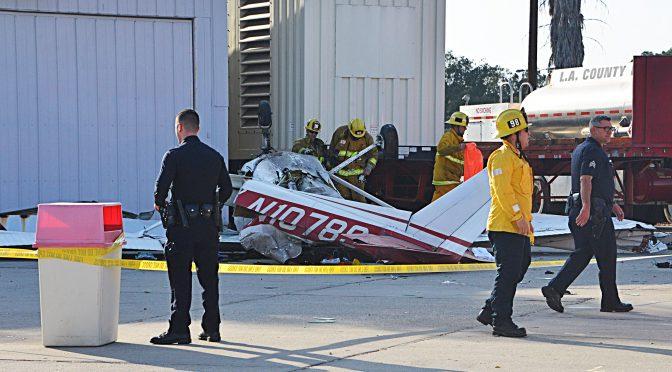 Plane Crashes At Whiteman Airport, 2 Critical