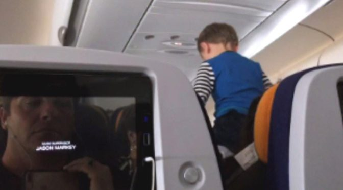 Child Screams On Flight For Eight Hours
