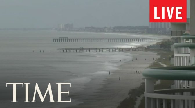 Live Stream: Myrtle Beach, SC and Sullivan's Island As Hurricane Florence Approaches