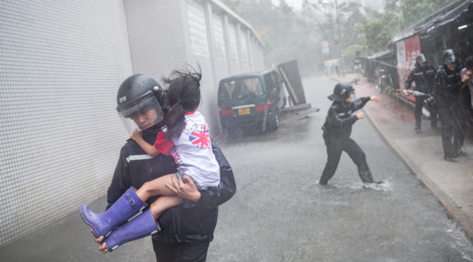 Hong Kong And Southern China Under Maximum Alert As Typhoon Mangkhut Kills At Least 66