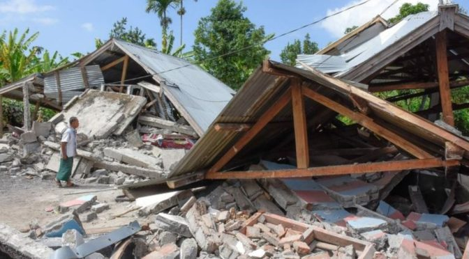 Number Of Dead Rises After Indonesian Earthquake