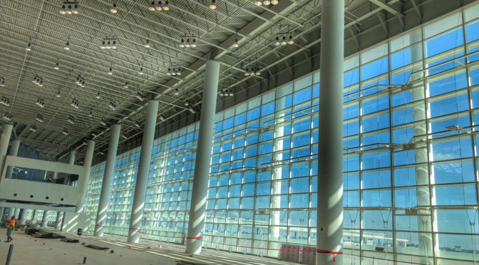 Latest Photos Of New Orleans' New Airport Terminal