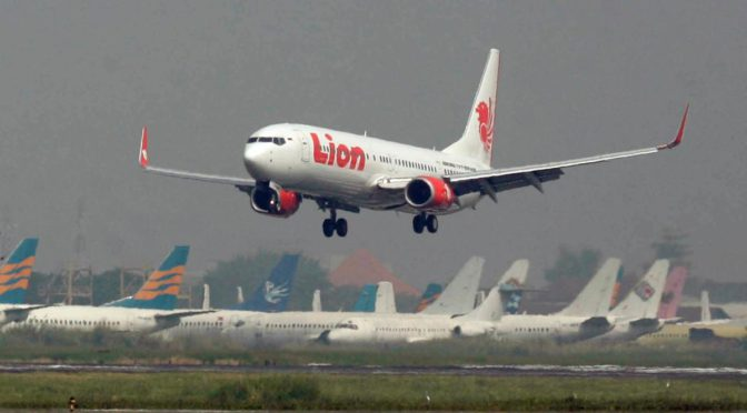 Lion Air Flight Carrying 188 People From Jakarta To Sumatra Has Crashed