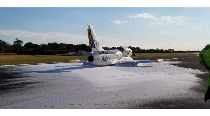 Plane Makes Emergency Landing After Damage During Takeoff