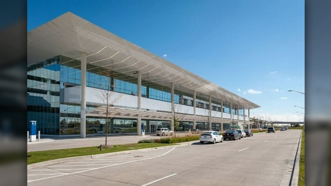 O'hare Airport Opens New Parking, Rental Car Facility