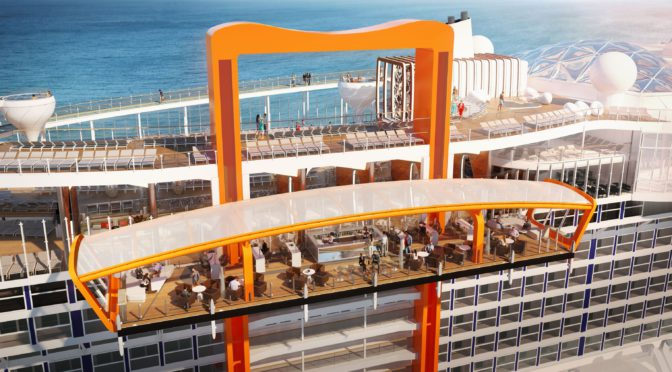 'Magic Carpet' On New Celebrity Cruise Ship Brings Passengers To Water's Edge
