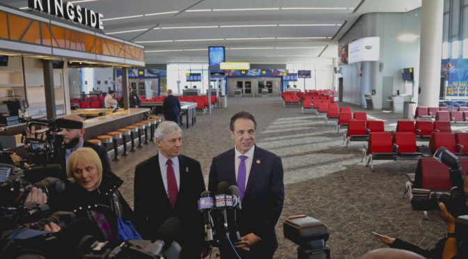 Laguardia Airport Opens Immaculate New Concourse