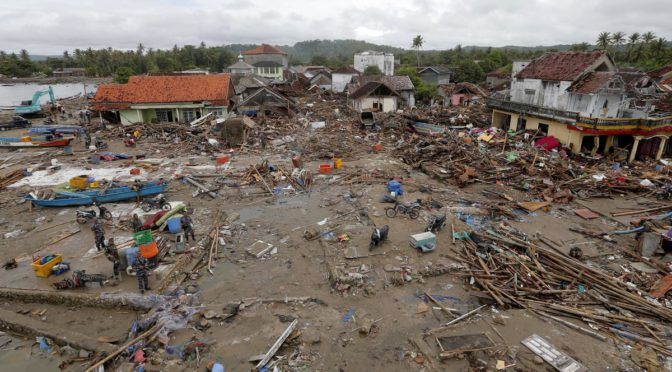Tsunami Death Toll Now 429 Dead, Thousands Homeless