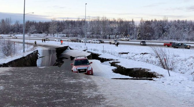Massive Earthquake Hits Anchorage, Alaska