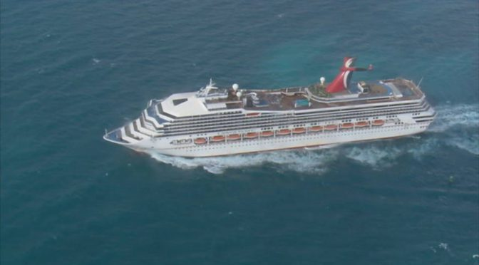 Coast Guard Suspends Search For Man Who Fell Overboard Off Carnival Victory