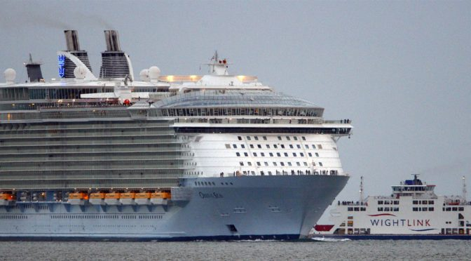 Nearly 300 passengers fall ill on Royal Caribbean's Oasis of the Seas Cruise ship