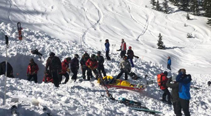 Skiers Buried By Avalanche In New Mexico