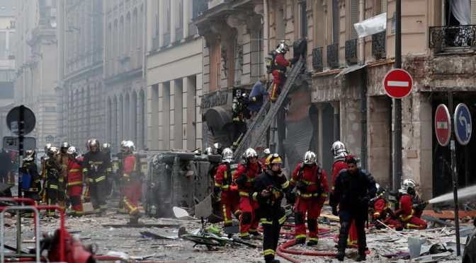 3 Killed, 47 Injured In Paris Bakery Gas Leak Explosion