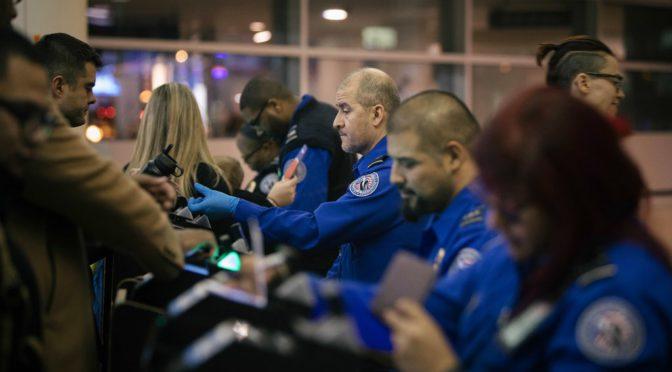 TSA Agents Are Calling In Sick Amid Government Shutdown