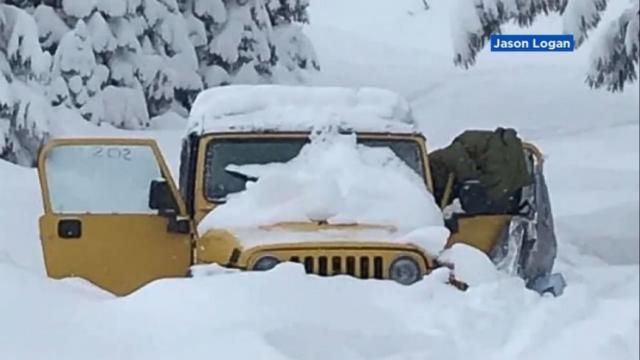 California couple rescued from Mendocino National Forest after being stranded in snow for 5 days in their Jeep