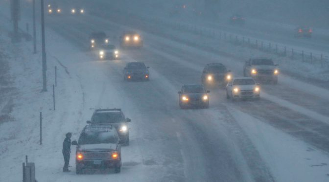 Slow-Moving Winter Storm To Bring Snow, Light Icing To Iowa