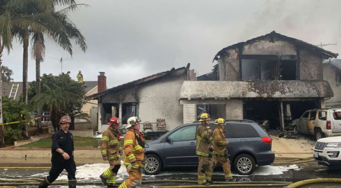 Plane Crashes Into California Home, Killing Five People