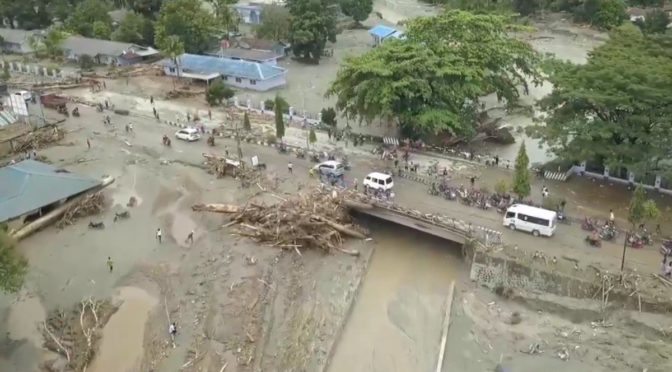 Death toll in floods in Indonesia's Papua rises to nearly 80