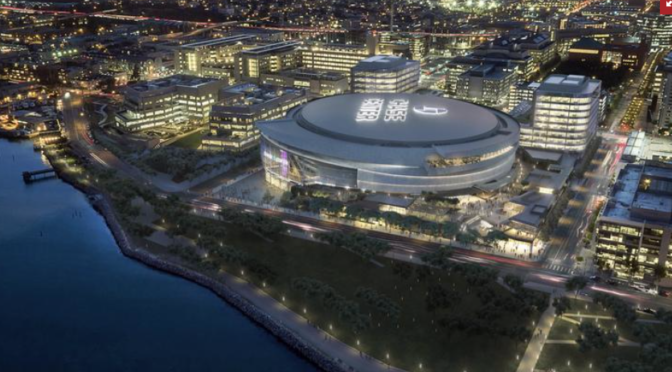 Warriors fell on the court, but franchise is booking hotel, apartment plans at Chase Center