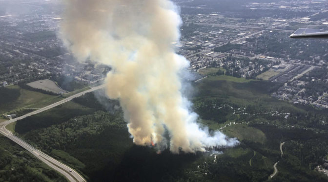 Alaska hit with record high temperatures and wildfires