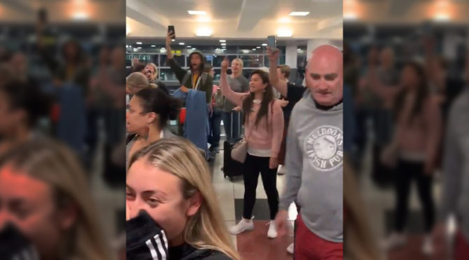 Passengers furious with Delta as no hotels offered during 18-hour delay on flight from NYC to LA