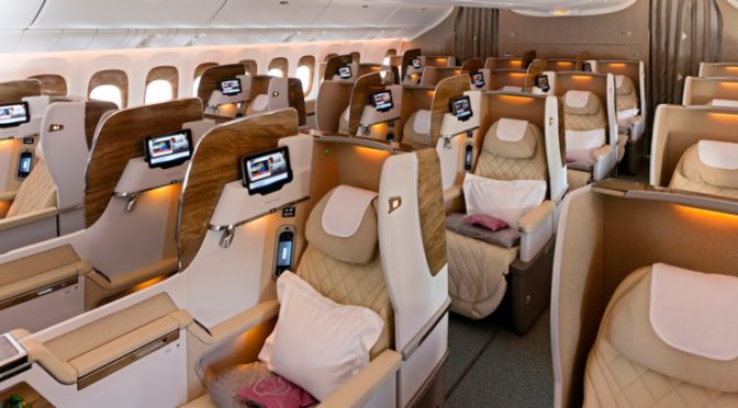 Get $100 Off When You Fly Business Class