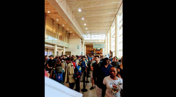 CLT Airport Passengers Irate After Thousands Of Boy Scouts Invade, Delay Flights