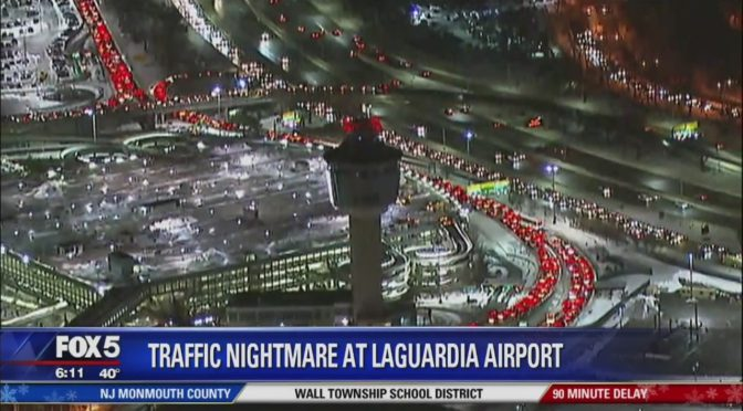Cuomo: LaGuardia Airport Traffic Nightmare An 'Unavoidable Inconvenience'