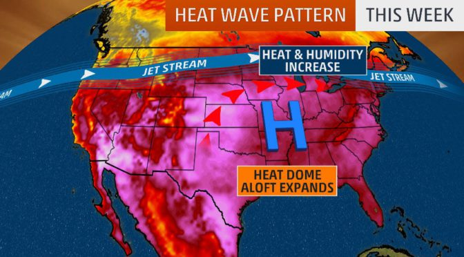 Parts of South and Midwest grapple with dangerous heat wave