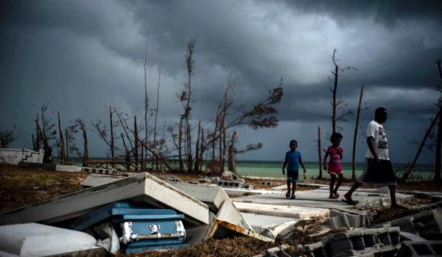 Storm reprieve: Tropical Storm Humberto steers clear of beleaguered Bahamas