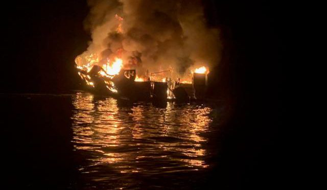 California boat fire: Eight confirmed dead as 25 remain missing near Santa Cruz Island