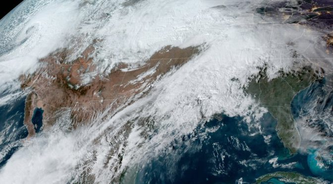 'Bomb Cyclone' Winter Storm Will Hit U.S. As Thanksgiving Nears, Forecasters Warn