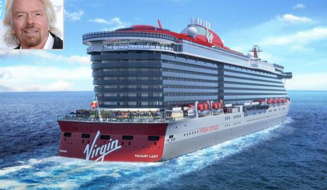 Richard Branson's Adults-Only, All-Inclusive Cruise Line Announces Second Ship, Valiant Lady