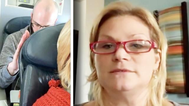 Woman EXPLAINS WHY SHE Reclined Her Seat on American Airlines Flight