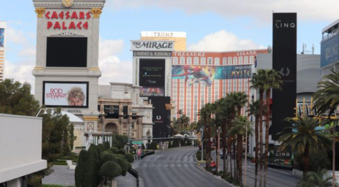How long can Las Vegas companies AND CASINOS survive a shutdown?