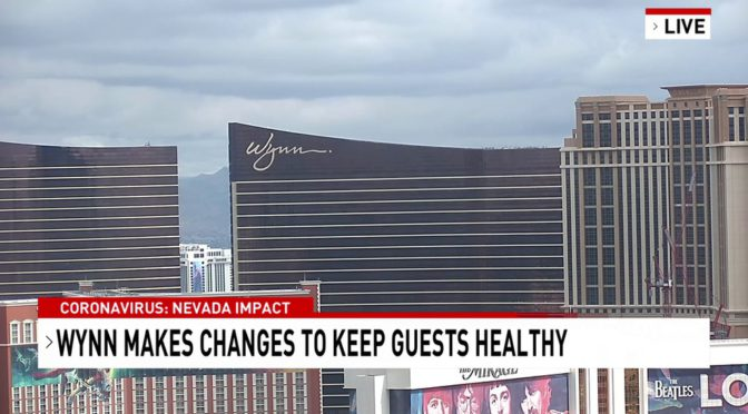 Wynn Resorts uses thermal cameras to screen guests, 100.4 degrees or higher asked to leave