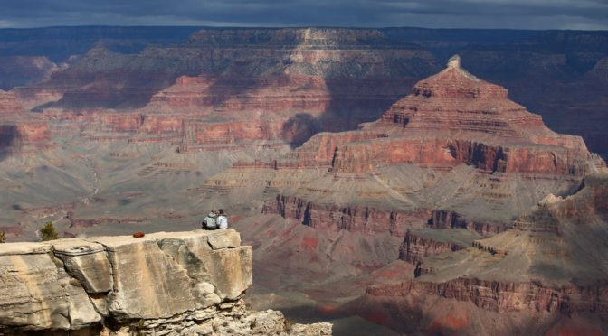 Tourists enter reopened Grand Canyon National Park