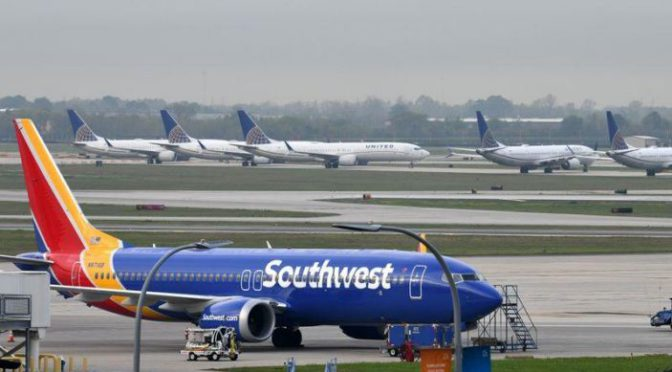 Southwest to limit seats sold on each flight through July -CEO